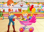 Game-mother-and-daughter-dress-comercial-centre
