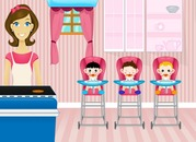 Play-kitchen-with-babies