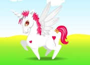 Makeover-tro-choi-voi-unicorn-be